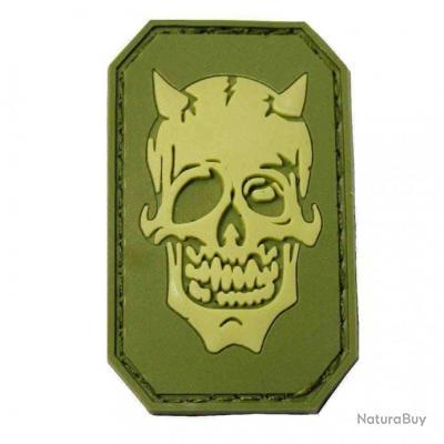 Morale patch Devil Face NB Vert