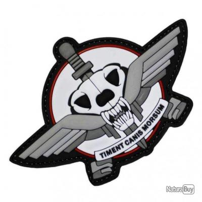 Morale patch Dogs Of War NB Blanc