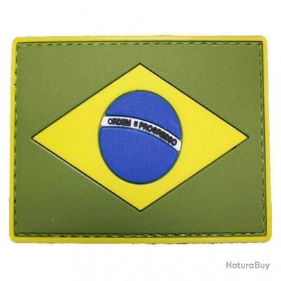 Morale patch Drapeau Brésilien NB