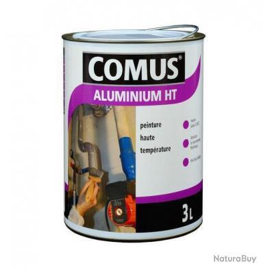 comus peinture aluminium haute temp rature 3l brillante gris argent 12889 peinture. Black Bedroom Furniture Sets. Home Design Ideas