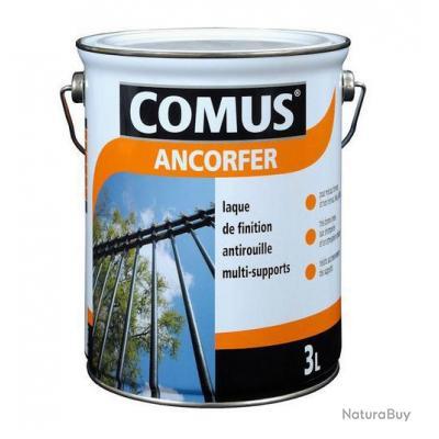 comus laque antirouille ancorfer 3l brillant noir 12104 peinture ext rieure 2841340. Black Bedroom Furniture Sets. Home Design Ideas