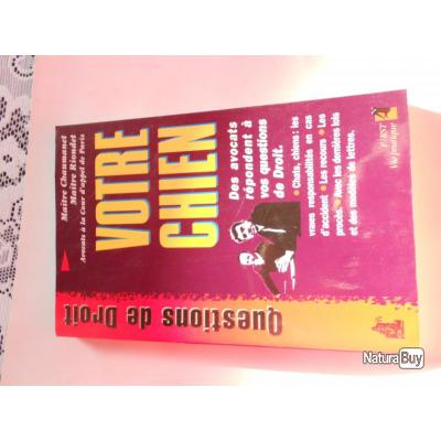 livre question de droit votre chien livres sur le dressage 2847570. Black Bedroom Furniture Sets. Home Design Ideas