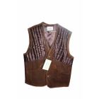 Gilet d apr�s chasse en cuir Chasse El�gance Taille XL