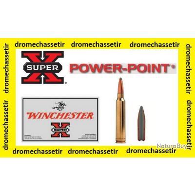 5 boites neuve de 20 cartouches  de calibre 243 Winchester, Winchester power point 100grs