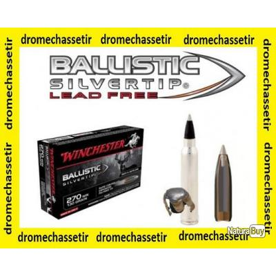 3 boites neuve de 20 cartouches  de calibre 7mm Rem Mag, Winchester Ballistic Silvertip 140 grs