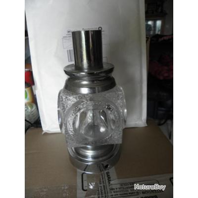 retro lampe de chevet verre et chrome annees 60 70 objets divers 2857933. Black Bedroom Furniture Sets. Home Design Ideas