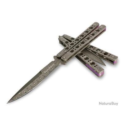 couteau papillon militaire