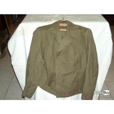 veste  tropicale blouson  Luftwaffe para  Italie Tunisie Afrika korps seconde guerre blouse T41 42