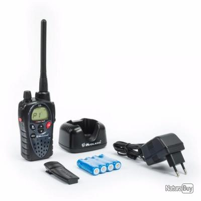 Midland G Plus Talkie Walkie Longue Portée Talkies Walkies Et - Talkie walkie longue portée