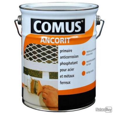 comus peinture primaire antirouille phosphatant ancorit 3l gris perle 12141 peinture. Black Bedroom Furniture Sets. Home Design Ideas