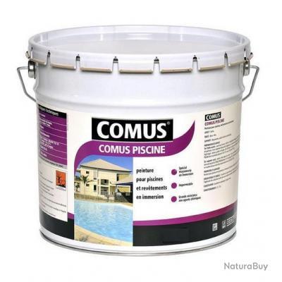 comus peinture piscine 3l satin e blanc 12533 peinture int rieure 2897318. Black Bedroom Furniture Sets. Home Design Ideas