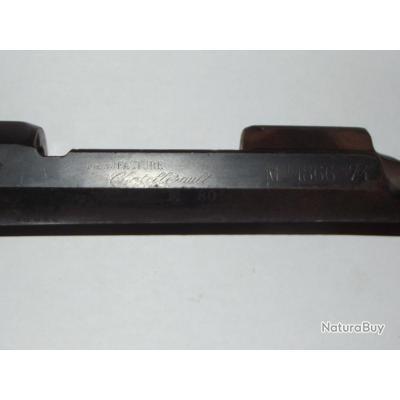 Boitier et bout de canon de Fusil Gras 1866/74, 1874, 74