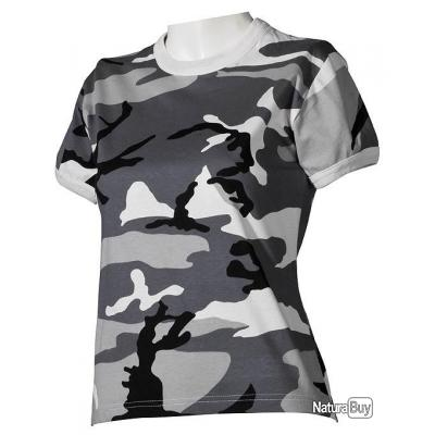 taille l tshirt tee shirt femme us camouflage urban coton tee shirts 2906480. Black Bedroom Furniture Sets. Home Design Ideas