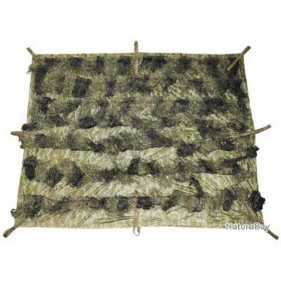 Couverture Camouflage couverture de camouflage ghillie camouflage woodland 3.5m x 1.5m