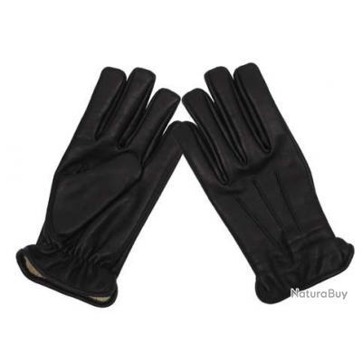 taille l gants cuir noir kevlar anti coupure gants tactiques et d fense 2908085. Black Bedroom Furniture Sets. Home Design Ideas
