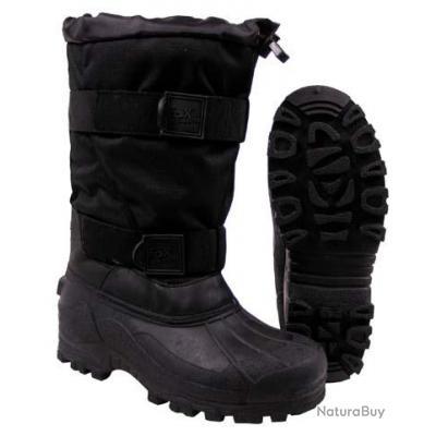taille 39 bottes hiver grand froid noir semelle caoutchouc bottes 2908204. Black Bedroom Furniture Sets. Home Design Ideas