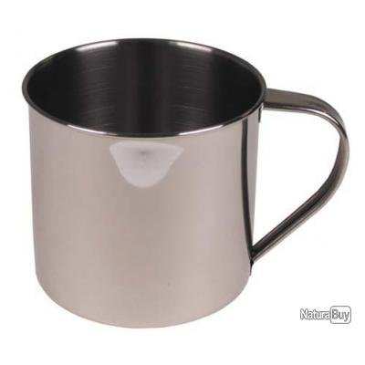 tasse chope inox 500ml 9cm x 9cm tasses mug 2908684. Black Bedroom Furniture Sets. Home Design Ideas