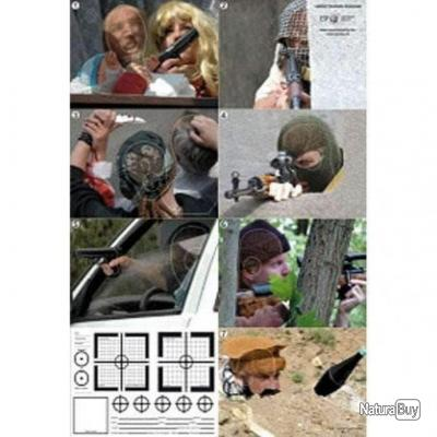 Cible papier Sniper ESP