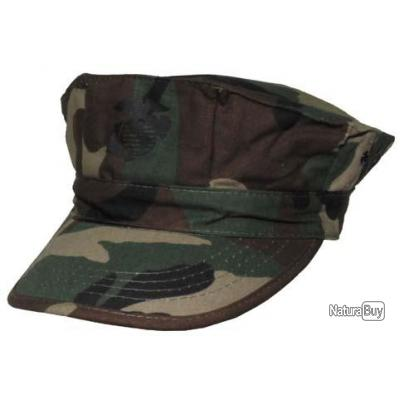 taille s casquette usmc us marines corp camouflage woodland ripstop chapeaux casquettes. Black Bedroom Furniture Sets. Home Design Ideas