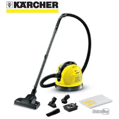 karcher aspirateur poussi res 600w 4l avec accessoires. Black Bedroom Furniture Sets. Home Design Ideas
