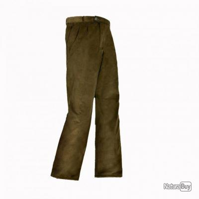 Pantalon Velours extensible Club Interchasse Lupin - TAILLE 40