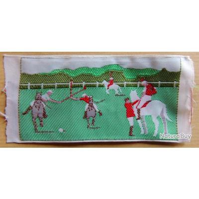 Ancien cusson patch coudre anglais sport equestre for A coudre en anglais