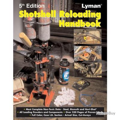 Lyman Shotshell Reloading Handbook 5th Edition Manuel de rechargement pour fusil de chasse
