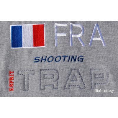 Gilet Sweat-shirt FRA Gris