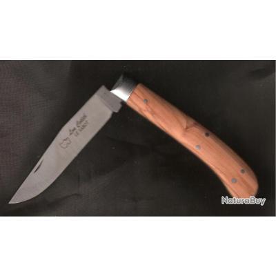 Gravé Prénom  LOU COTEH couteau des PYRENEES  artisanal