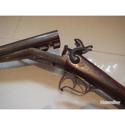 Exceptionnel fusil de collection lepage fr res broches calibre 16 parfait tat de conservation - Bassin ancien vendre saint etienne ...