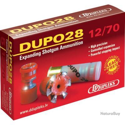 Cartouches Ddupleks Dupo 28 cal.12/70 dupleks 5 boites