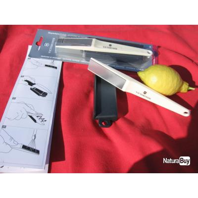 1 aff teur couteaux victorinox diamant avec support pour toutes lames et couteaux c ramique. Black Bedroom Furniture Sets. Home Design Ideas