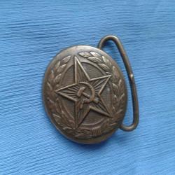 Boucle de ceinture de parade d officier de l armée soviétique URSS CCCP 5e302771095