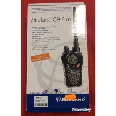 Talkie walkie Midland G9 Plus