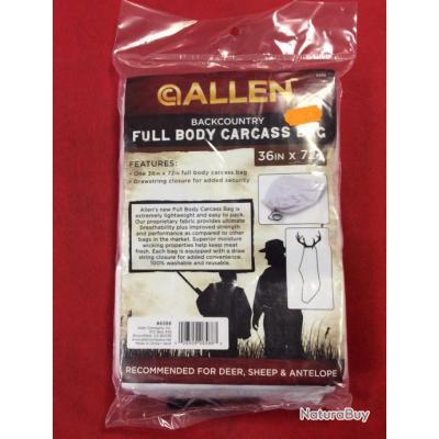 Grand sac de conservation de carcasse Allen special cerf/mouton/antilope