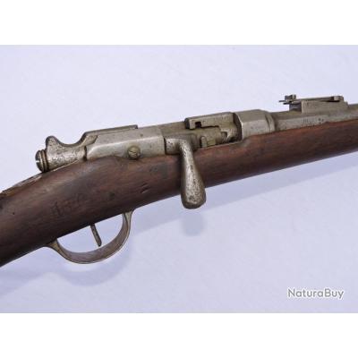 fusil gras mod le 1874 saint etienne bois d 39 origine rechambre fusils et mousquetons. Black Bedroom Furniture Sets. Home Design Ideas