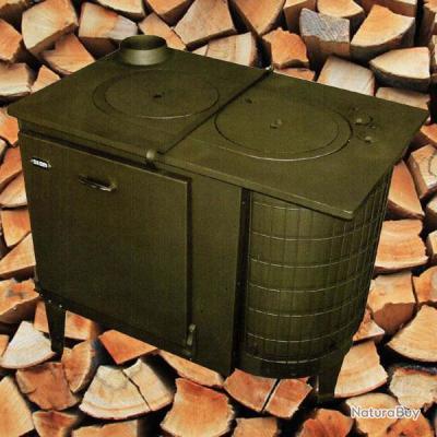 cuisini re bois conomique maison chalet atelier turbo combustion cuisiniere n 5. Black Bedroom Furniture Sets. Home Design Ideas