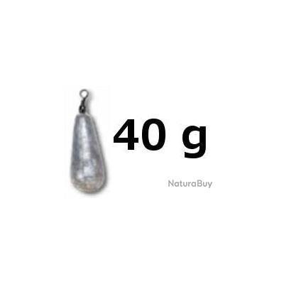 PLOMB POIRES EMERILLONS 40 GRS - alciumpeche