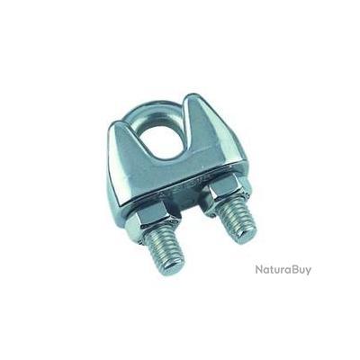 SERRE-CABLE ETRIER INOX D. 6 mm - alciumpeche