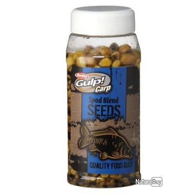 GRAINES GULP READY SEEDS SPOD BLEND 800 ml --- ndd - alciumpeche