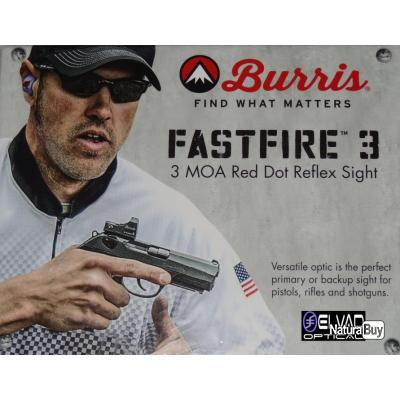 Point Rouge BURRIS Fastfire III - 3 MOA