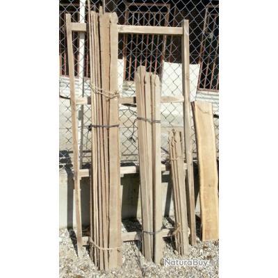 Lot de bois pour portes de jardin à terminer et à monter