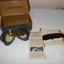 Ww2 Vintage Made England Aviation In Militaria Lunettes DIE2YW9H