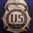 Insigne DEA avec porte insigne clip