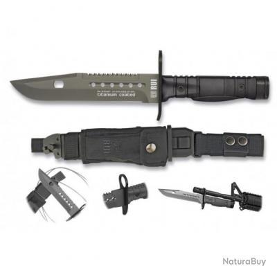 couteau de combat avec etui