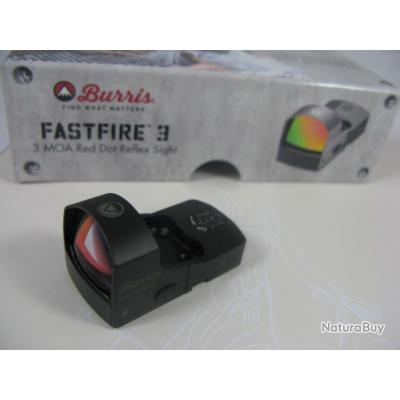 Burris Fastfire III 3 MOA (sans montage)