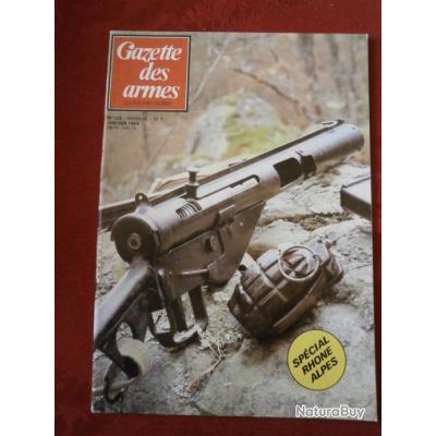 gazette des armes numéro  125 (voir sommaire au niveau du texte de l'annonce)
