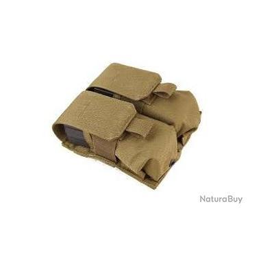 Double mag pouch (x2) pour chargeurs M4 / M16 Cordura khaki