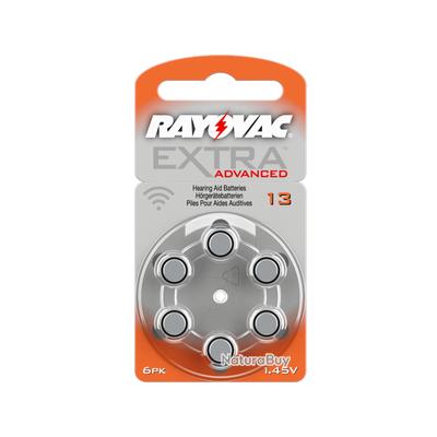 60 piles auditives RAYOVAC 13