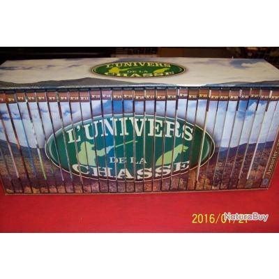 collection de 31 DVD sur la chasse